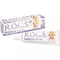 Зубная паста детская РОКС Baby (0-3лет) Нежный уход Аромат липы 45г