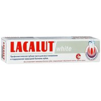 Зубная паста ЛАКАЛЮТ White 50мл