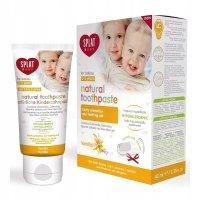 Зубная паста детская СПЛАТ Baby (0-3 лет) со вкусом ваниль 40мл + зубная щетка сил.