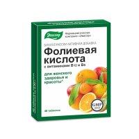 Фолиевая кислота с вит. В12, В6