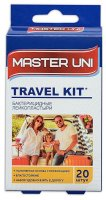 Лейкопластырь MASTER UNI Travel Kit 1,9х7,2 №20 (полим.основа телесн.)