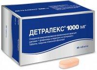 Детралекс таб. п/пл. об. 1г №60