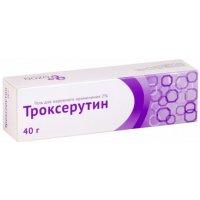 Троксерутин туб.(гель) 2% 40г