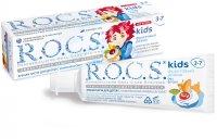 Зубная паста детская РОКС Kids (3-7лет) Фруктовый рожок б/фтора 45г