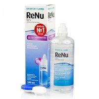 Раствор для контактных линз RENU MPS 240мл д/чувств. глаз+ контейнер