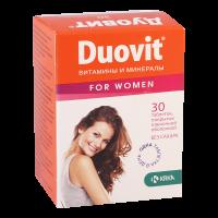 Дуовит для женщин таб. п/об. №30