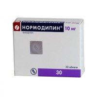 Нормодипин таб. 10мг №30