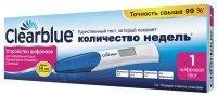 Тест на беременность CLEARBLUE Digital Цифровой (д/опр срока беременности)