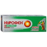 Нурофен Экспресс туба(гель д/наружн. прим.) 5% 50г №1