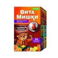 Витамишки Immuno+ (облепиха) д/иммунитета пастилки жев. №30