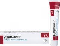 Целестодерм-В туба(крем д/наружн. прим.) 0,1% 15г №1
