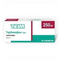 Тербинафин-Тева таб. 250мг №28