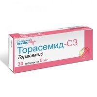 Торасемид-СЗ таб. 5мг №30