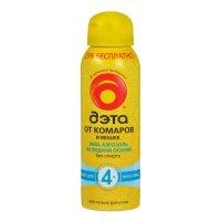 ДЭТА-аэрозоль спрей Aqua от мошек, комаров, слепней 100мл