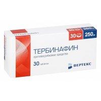 Тербинафин таб. 250мг №30