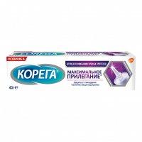 Корега крем Максимальное прилегание 40г д/фикс. зубн. протезов