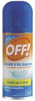 Офф! Smooth Dry аэрозоль от комаров