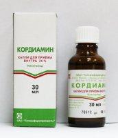 Кордиамин фл.(капли орал.) 25% 30мл