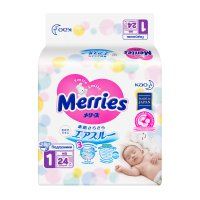 Подгузники MERRIES (0-5 кг) №24