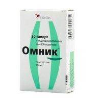 Омник капс. с модиф. высв. 0,4мг №30