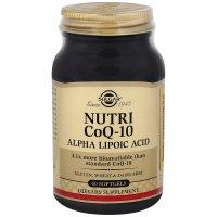 Солгар Нутрикоэнзим Q-10 с альфа-липоевой кислотой