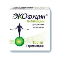 Экофуцин супп. ваг. 100мг №3