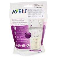 Пакет AVENT д/хранения молока 180мл №25 (арт. 8025 SCF603/25)