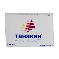 Танакан таб. п/пл. об. 40мг №30