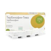Тербинафин-Тева таб. 250мг №14