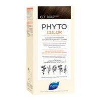 PHYTOSOLBA 6.7 ФИТОКОЛОР Краска для волос Темный шоколадный блонд 50/50/12