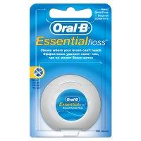 Зубная нить ORAL-B Essential Floss 50м вощеная мятная