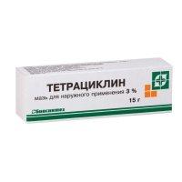 Тетрациклин туба(мазь д/наружн. прим.) 30000ЕД/г 15г