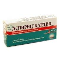 Аспирин Кардио таб. п/об. р-р/кишечн. 100мг №28