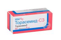 Торасемид-СЗ таб. 5мг №60