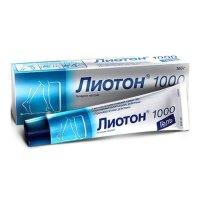 Лиотон 1000 туба(гель д/наружн. прим.) 1000ЕД/г 100г №1