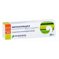 Метилурацил мазь 10% 25г