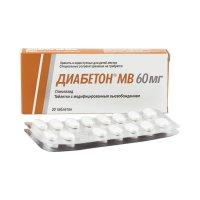 Диабетон MB таб. модиф. высв. 60мг №30