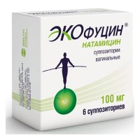 Экофуцин супп. ваг. 100мг №6