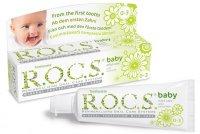 Зубная паста детская РОКС Baby (0-3лет) Нежный Уход Душистая Ромашка 45г