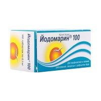 Йодомарин 100 таб. 100мкг №100 (фл.)