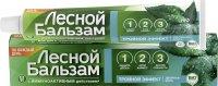 Зубная паста ЛЕСНОЙ БАЛЬЗАМ Тройной эффект Двойная мята 75мл