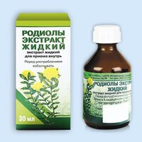 Родиолы экстракт жидкий фл.(экстракт жидк.) 30мл