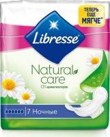 Прокладки гигиенические LIBRESSE Natural Care Night №7