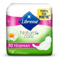 Прокладки гигиенические LIBRESSE Natural Normal Care №10