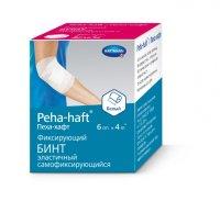 Бинт PEHA-HAFT Latexfree фикс. когезив. 4м х 6см (белый)