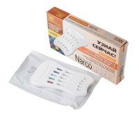 Тест диагностический Narcocheck мультипанель д/выявл. 5 видов наркотиков
