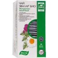 Чай лечебный ЭВАЛАР БИО Желудочно-кишечный пак.-фильтр 1,8г №20