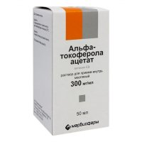 Альфа-Токоферола ацетат (Витамин E) фл.(р-р масл. орал.) 30% 50мл
