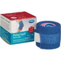 Бинт PEHA-HAFT Latexfree фикс. когезив. 4м х 4см (синий)