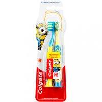 Зубная щетка детская COLGATE Миньоны (с 2лет)